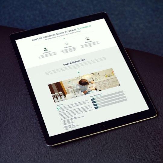 Diseño web odontología