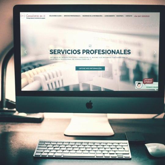 Diseño web Consultoresn en it