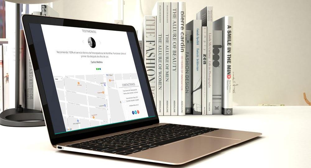 diseño web para worldfax