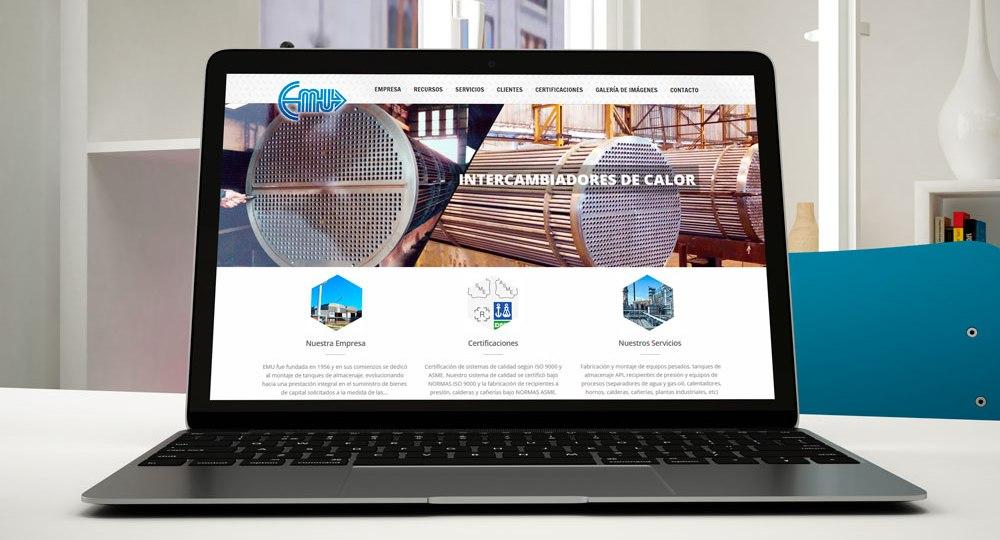 Diseño web para Emu