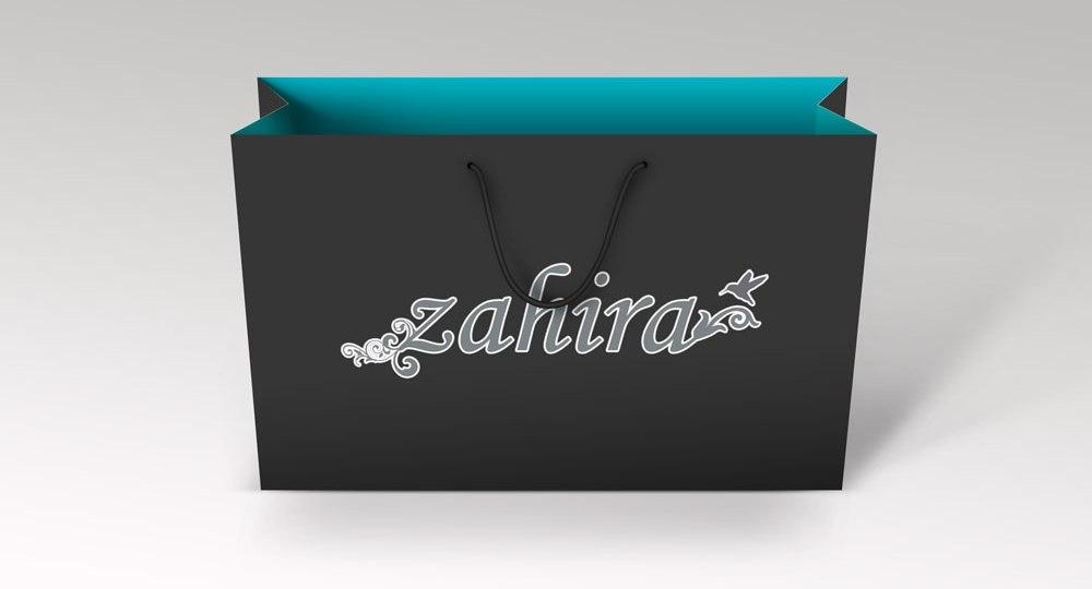 Diseño de logo Zahira