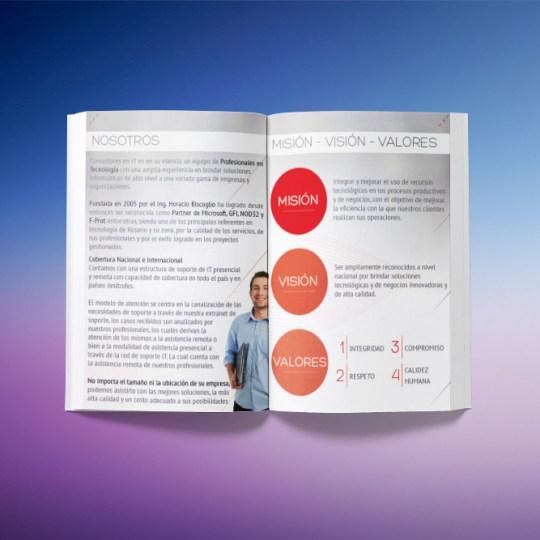 Diseño catalogo A4
