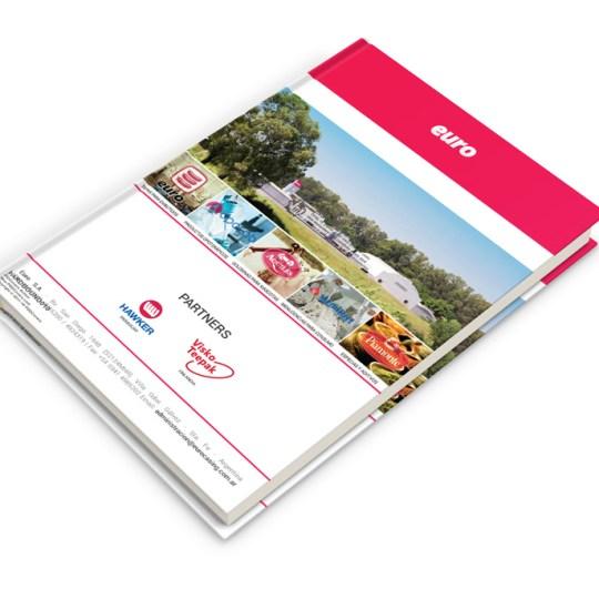 Diseño de cuaderno Euro