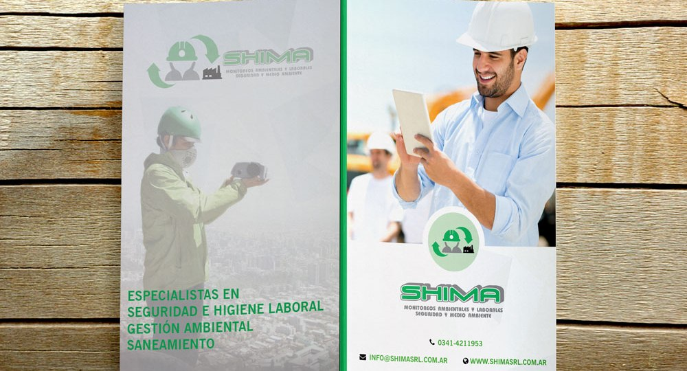 Diseño de carpeta para Shima SRL