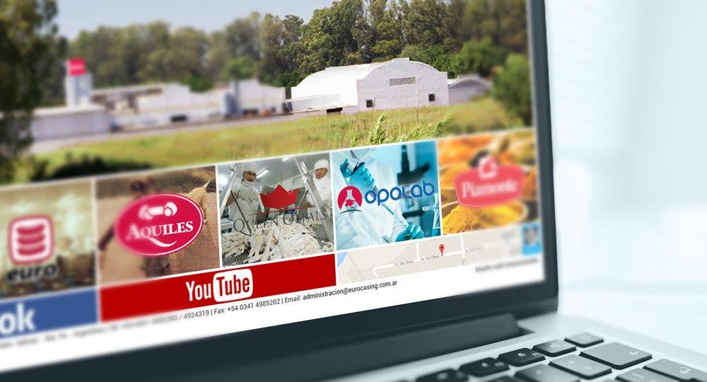 Diseño web para Euro SA