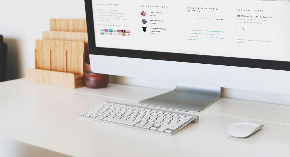 Diseño de tienda online KoeKohe