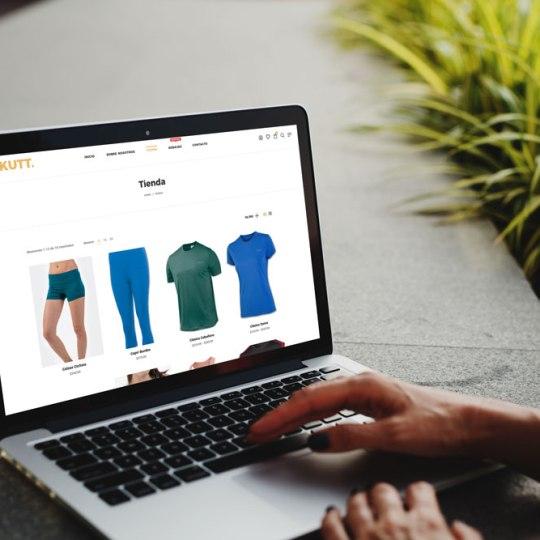 Diseño web tienda online Makutt