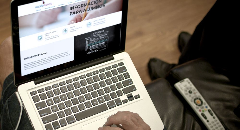 Web para Rosario Educa