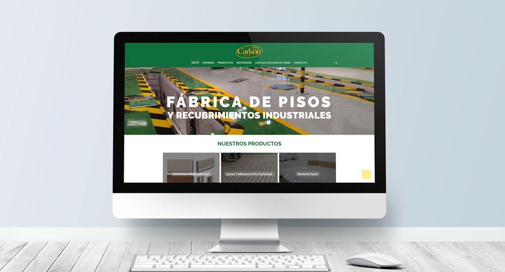 Sitio Web Para Carlson Pinturas
