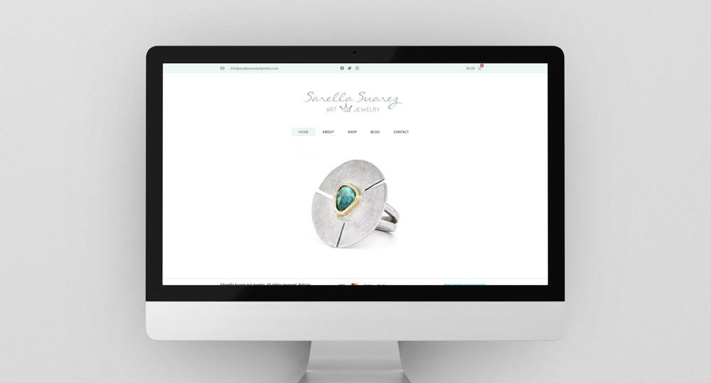 Diseño Tienda Online Sarella Suarez