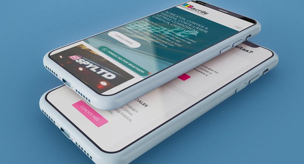 Diseño Web Para Macrile2