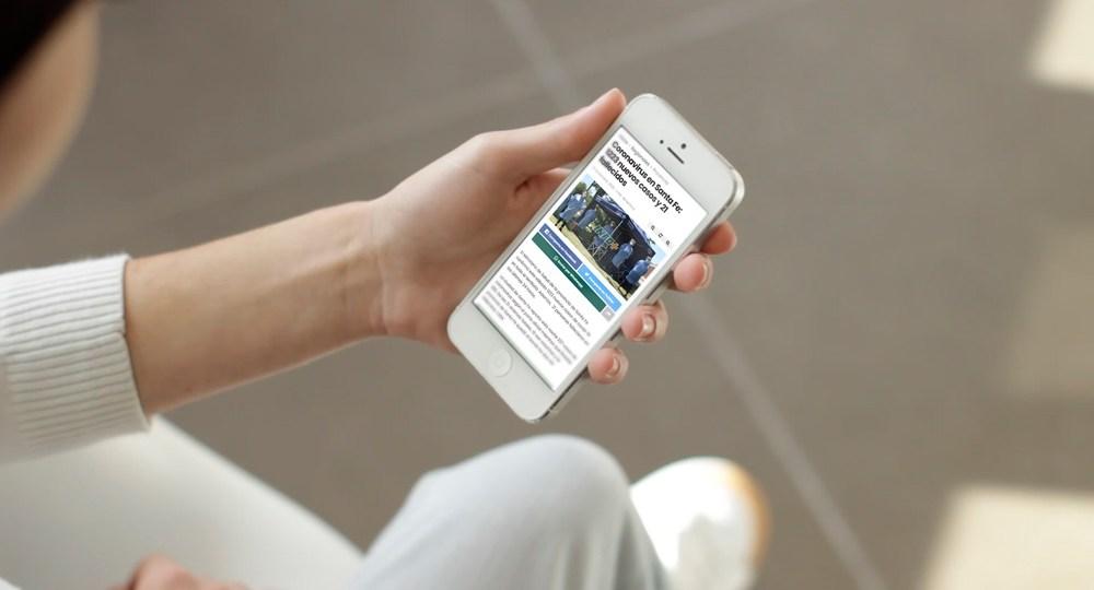 Diseño Web Sitio Noticias Infomas2