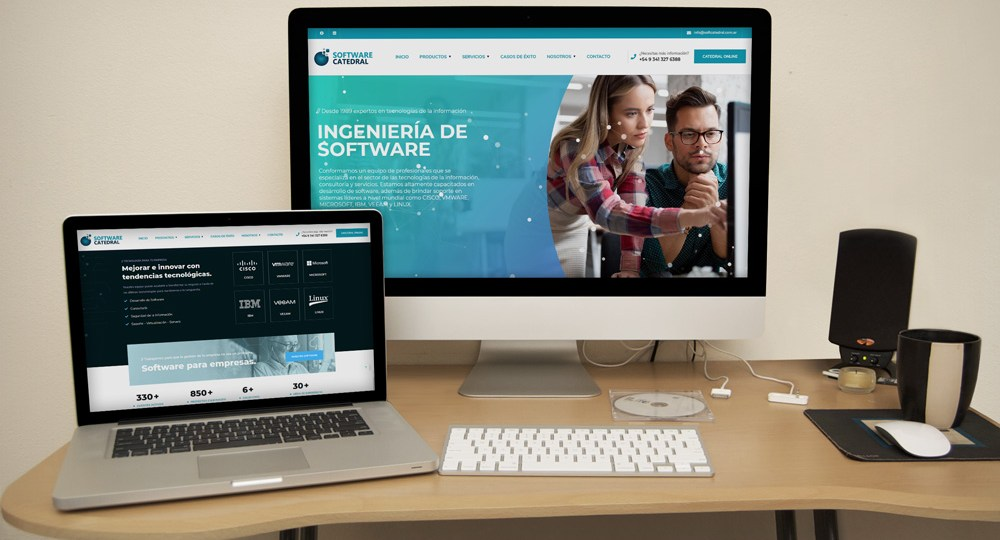 Diseño Web Software Catedral