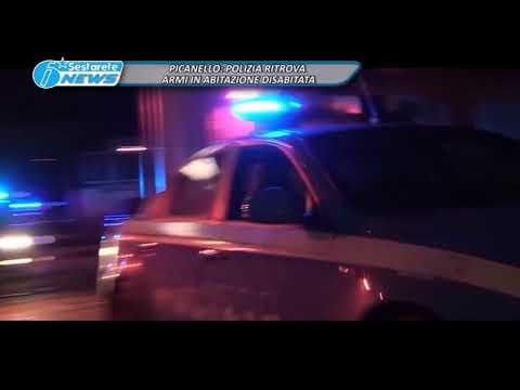 PICANELLO, POLIZIA RITROVA ARMI IN ABITAZIONE DISABITATA