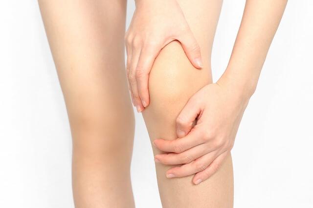 人工膝関節置換術の皮膚の切開
