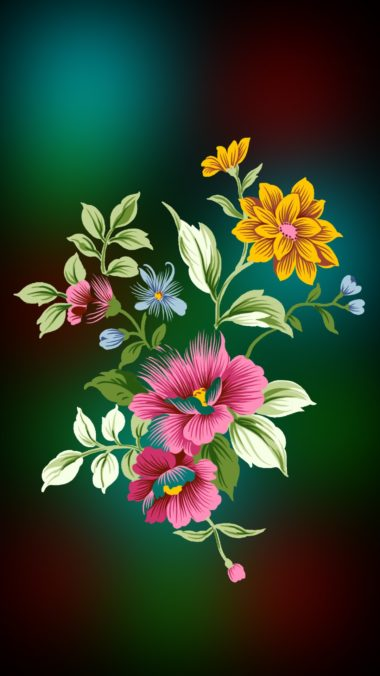 Apple iPhone 6s Plus Wallpapers HD Flowers01 Wallpaper 1080x1920 380x676