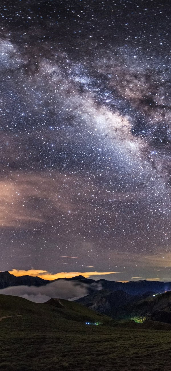 Milky Way HD Wallpaper - [1125x2436]