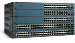 Configuração Switch Cisco Catalyst Cisco Catalyst 3560, WS-C3750, WS