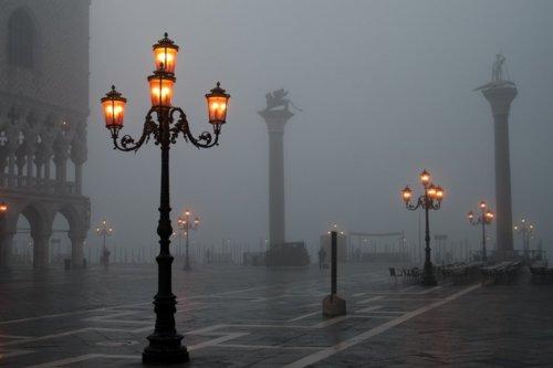 Foggy Dusk, Venice, Italy