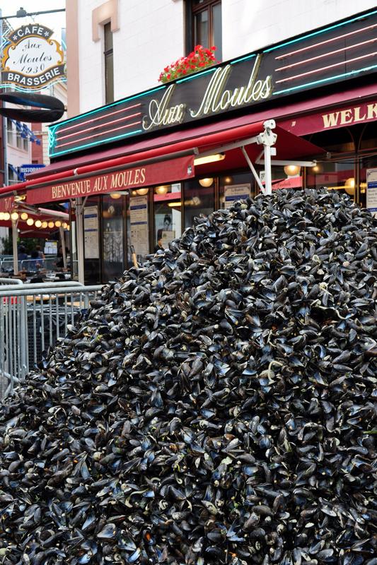 braderie lille france voyage travel organisation brocante tourisme tourism tas moules mussels gant street