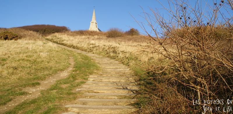 blog etretat amont chapelle marche voyage