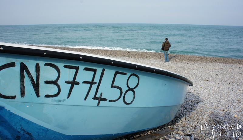 blog bateau plage seth etretat france voyage