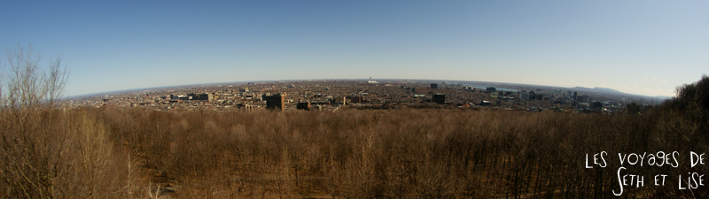 blog voyage canada montreal panoramique mont royal