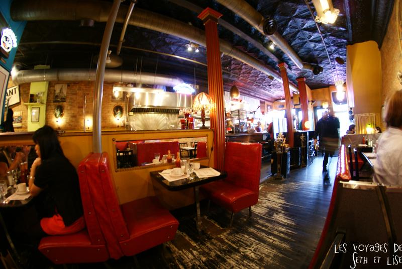 blog voyage canada pvt montreal backpacker bagel etc restaurant food deco