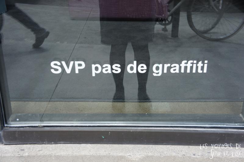 blog voyage canada pvt montreal graffiti svp civisme tag graff vitrine