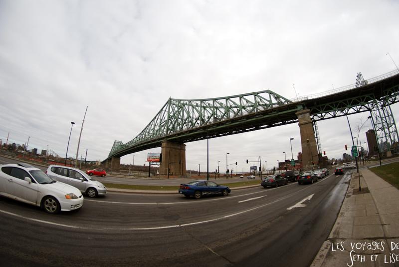 blog voyage canada montreal pvt pont bridge jacques cartier 8mm