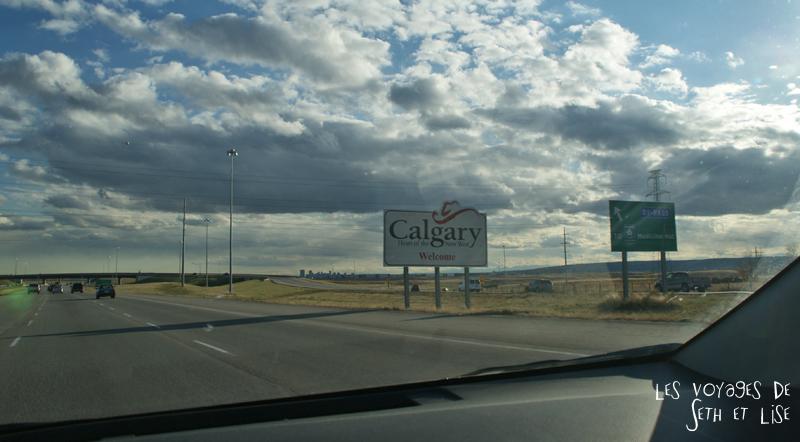 blog canada voyage photo pvt alberta calgary road autoroute