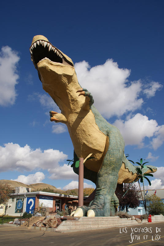 blog canada voyage photo pvt alberta drumheller dinosaure