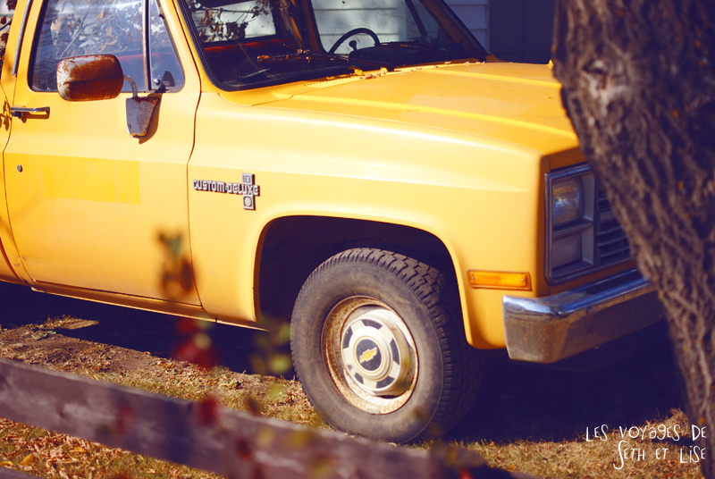 blog canada photo voyage pvt alberta big valley chevy 4WD