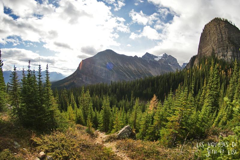 blog pvt photographie pvtiste canada alberta rocheuses rockies moutains voyage montagne couple tour du monde nature parc national lac lake paysage