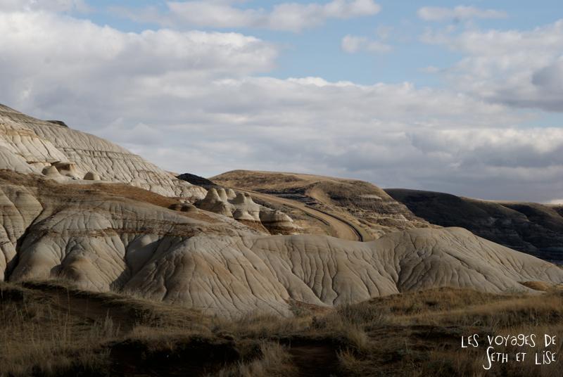 blog canada voyage photo pvt alberta drumheller dinosaure badland western