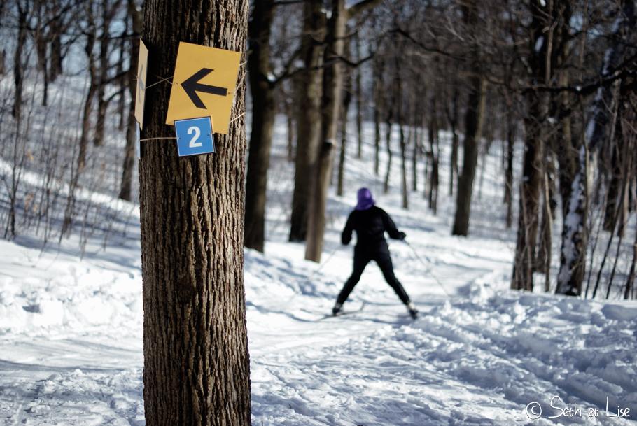 piste ski montreal