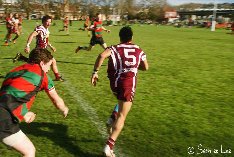 Tendresse, câlins et amour, c'est ça le rugby!