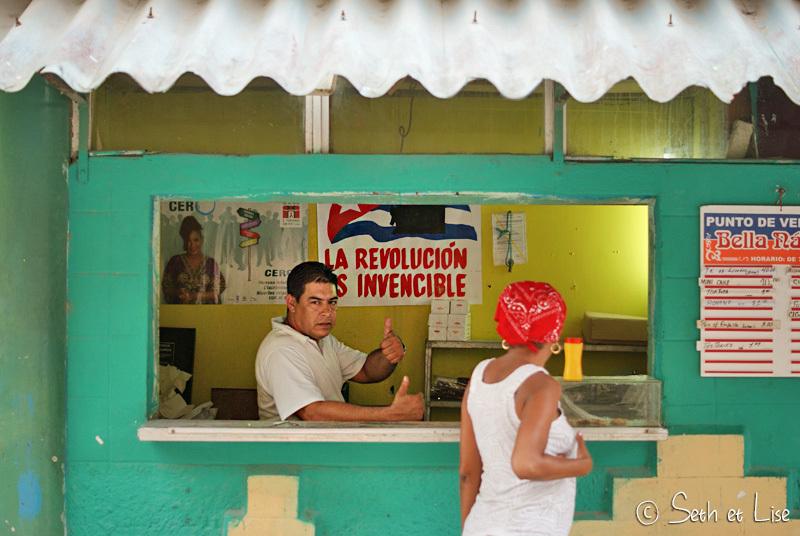 La révolution jusque dans les boutiques!