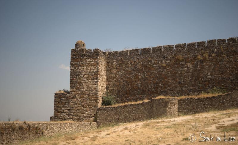 mur chateau