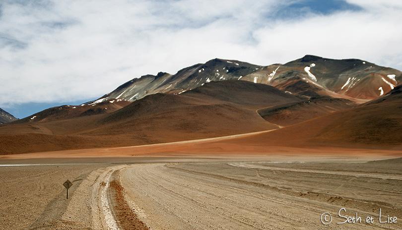 color bolivia mountain