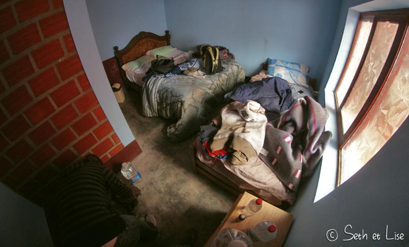La chambre tout confort