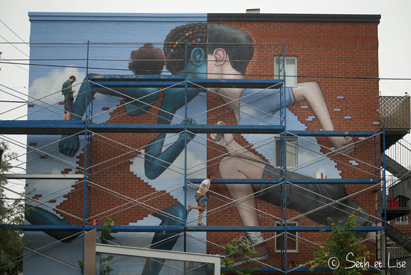 mural seth scafolding