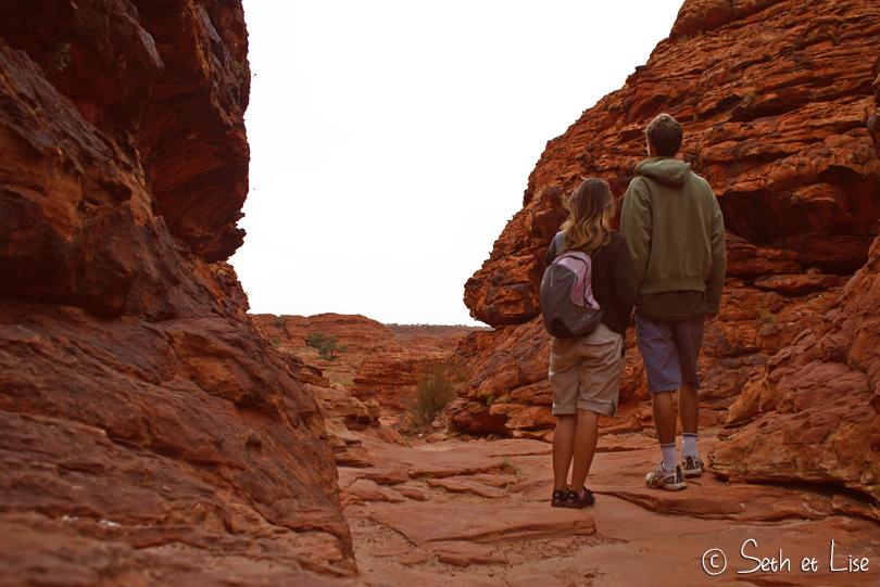 Perdu dans le désert australien