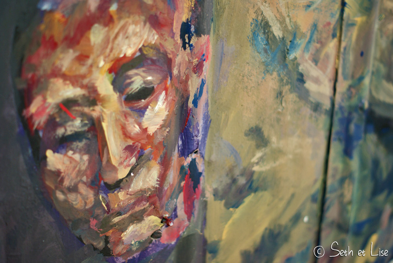 murale visage