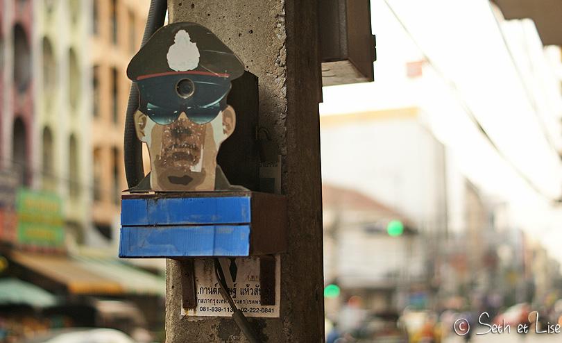 fake police bangkok