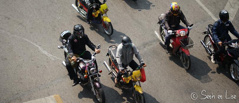 scooter bangkok thailand