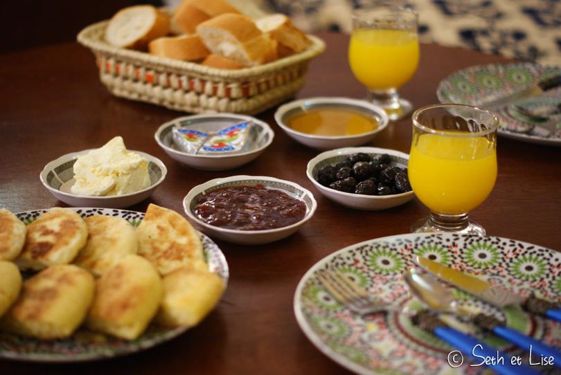 petit dejeuner marocain