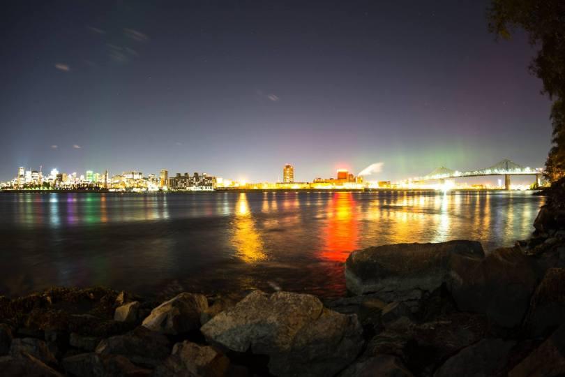 aurores boréale montréal