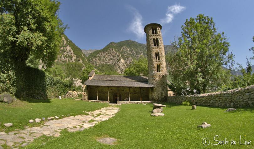 Esglesia de Santa Coloma andorre