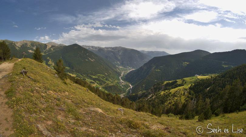 vallée andorre pyrenees